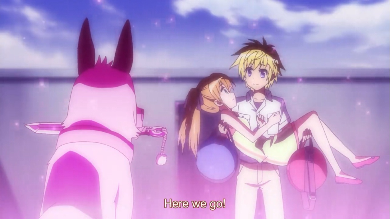This Is The Second Season Of Dog Days First Was About Guy Named Sink Being Sent Into A World Where Inhabitants Are People With Fluffy